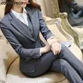 New 2017 Womens  2Pcs Formal Ladies Sets Office OL Uniform Women Business Blazer Skirts Pant Suits Work Office Jacket Trousers