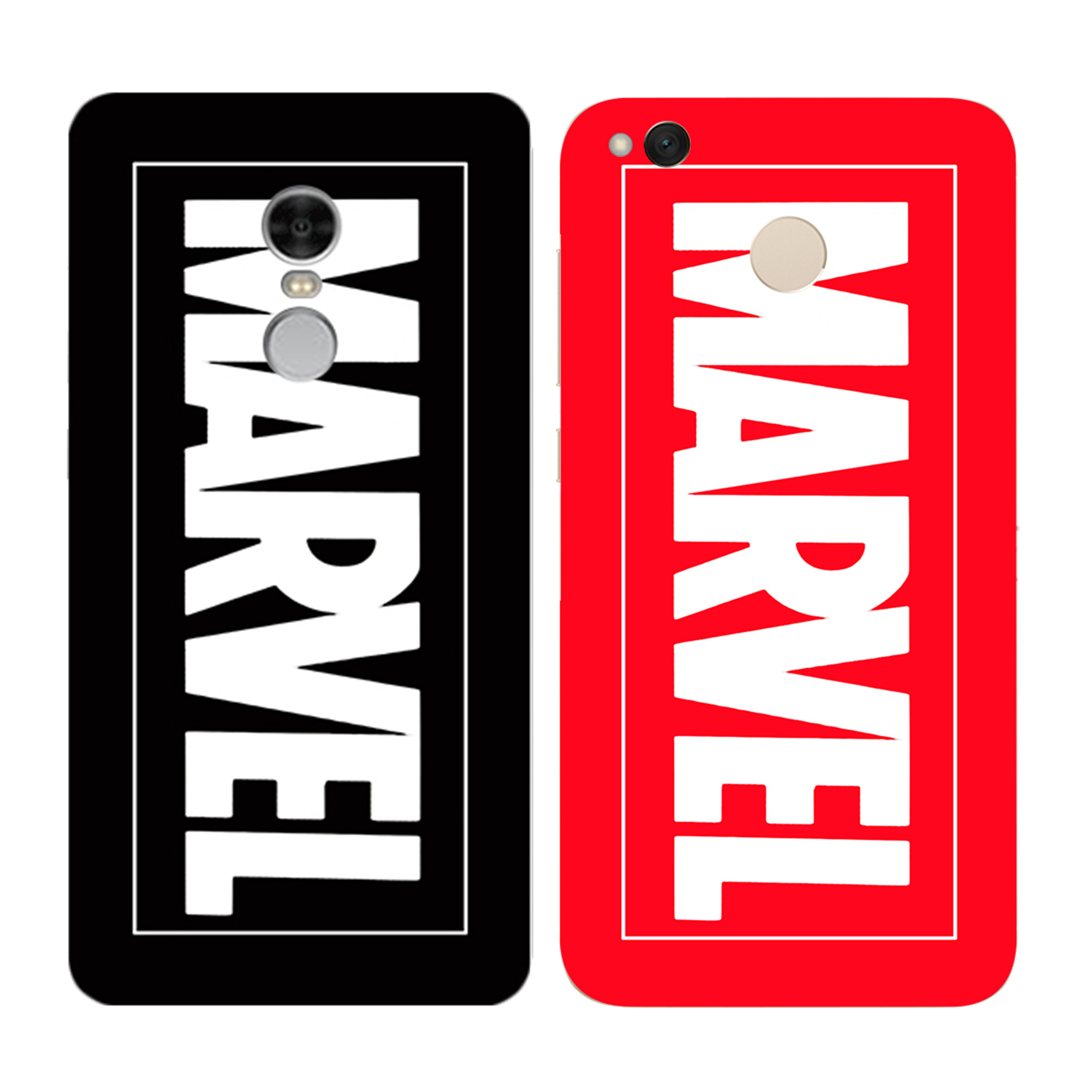 Luxury Durable Soft Ultra Thin Marvel Phone Case for Xiaomi Redmi 3 3S 4A 4X 4 4S Mi A1 Mi 5X Note 3 4 4X 5A Case Back Cover