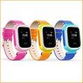 Nova criança GPS relógio inteligente relógio de pulso chamada SOS localizador localizador dispositivo rastreador criança Monitor de segurança Anti Lost bebê Q60