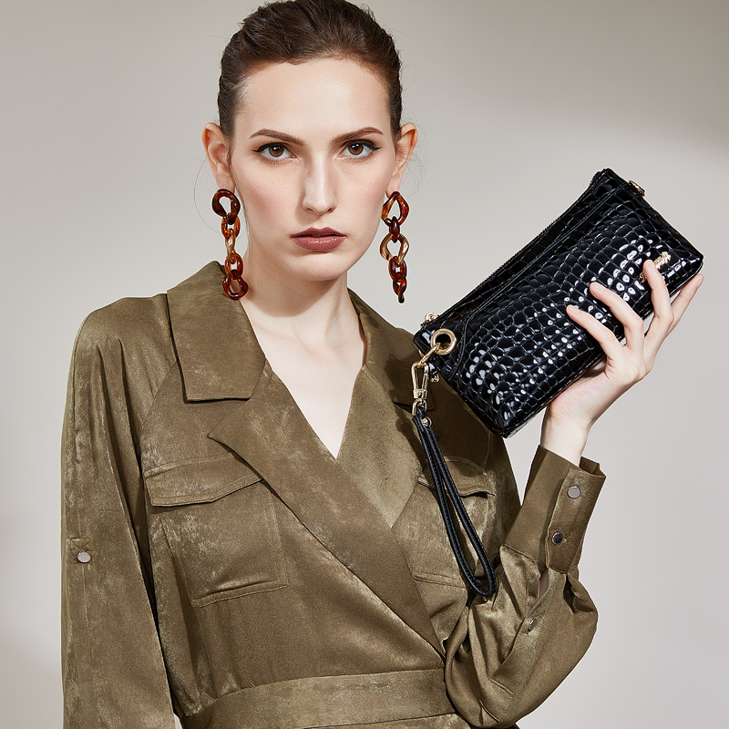 High quality stylish bag 2018 new ZOOLER Woman mini-handbag Genuine leather bag purses luxury clutch women shoulder bag B185