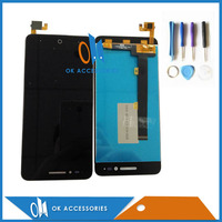 5 Inches White Black Color 100 Tested For ZTE Voyage Blade A610 LCD Display Touch Screen