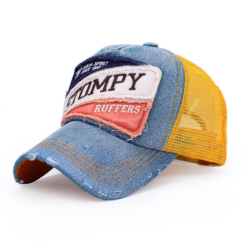 2015 Hot Mesh Cap Retro Trucker Hat Adjustable Men Women Hip Hop bone Trucker  Cap Baseball Cap Snapback Caps Bone  65005-in Baseball Caps from Apparel ... 6f827bcba0e