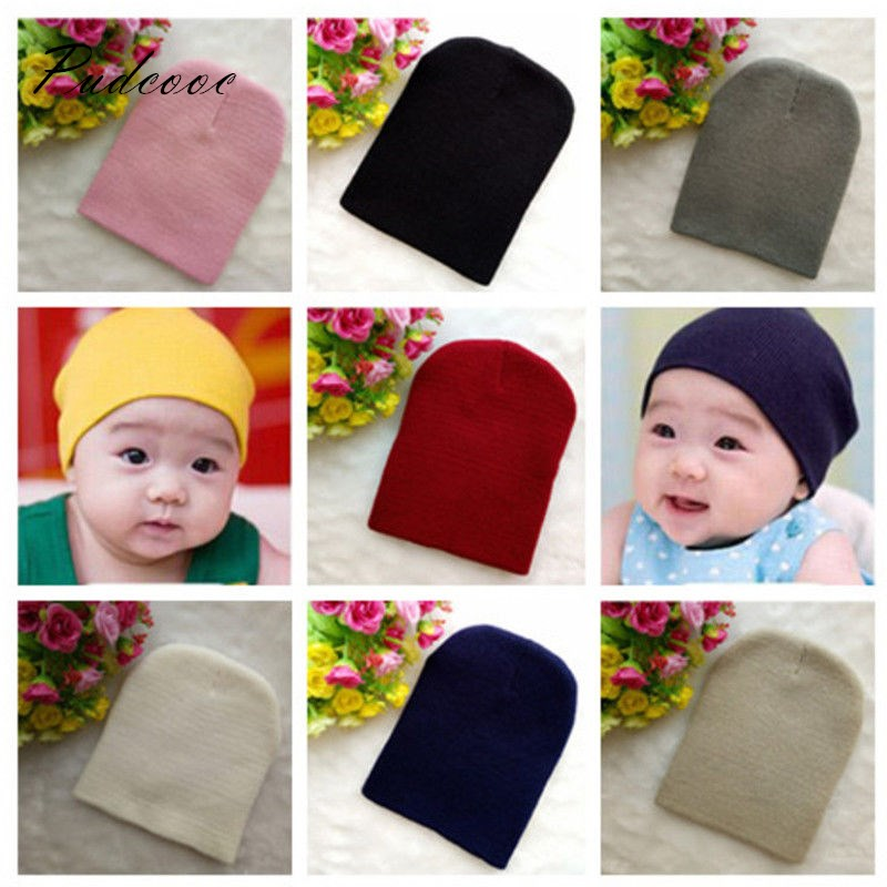 US New Baby Cap Beanie Boy Girl Toddler Infant Children Cotton Soft Cute Hat