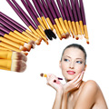 New Arrival Pro 20Pcs Superior Cosmetic Brushes Set Kit Makeup Tool Brushes Hot Selling Fashion