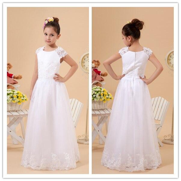 23511efbfe2 Hot Selling Flower girl Dress first holy communion dresses-in Flower ...