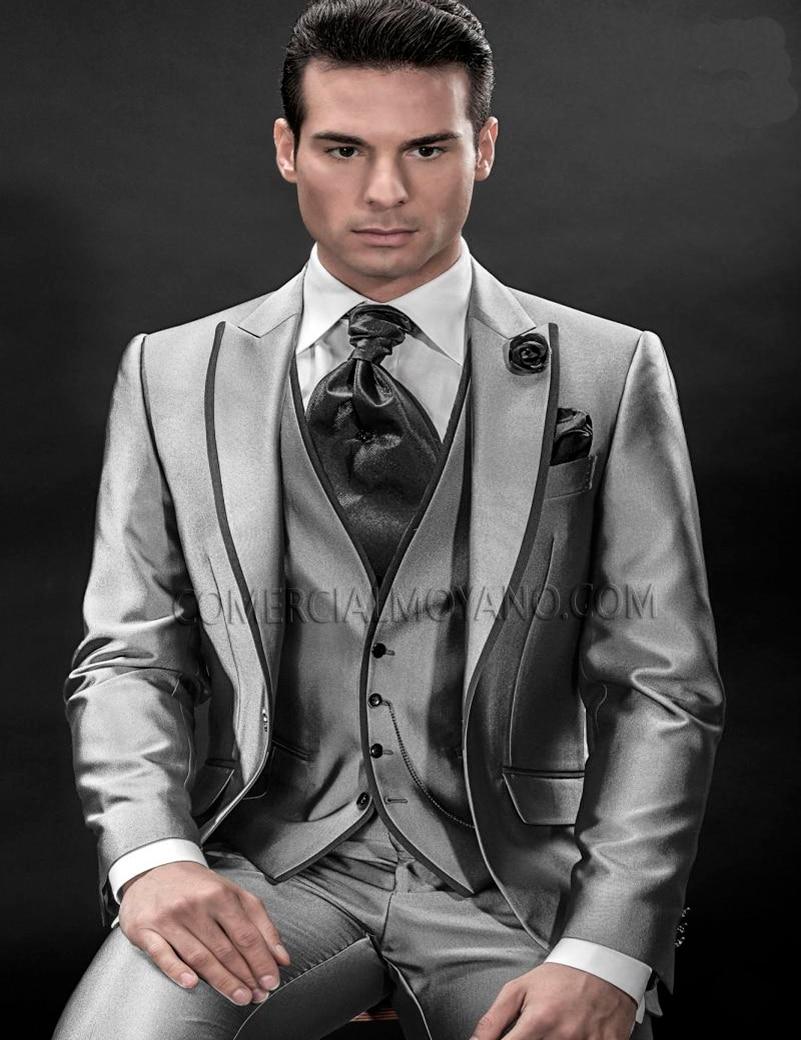 Online Get Cheap Grey Italian Suits -Aliexpress.com   Alibaba Group