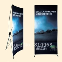 80X180CM quality X display banners (with printed graphic), MOQ: 1set