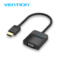 Vention HDMI To VGA Adapter Digital To Analog Video Audio Converter Cable 1080p For Xbox 360