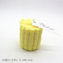 3d Corn Shape Maize scented candle mold Muse cake handmade soap silicone