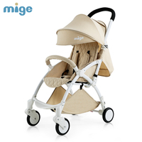 Mige 4 colors EU brand baby carriage baby stroller umbrella car light folding stroller baby stroller portable cart
