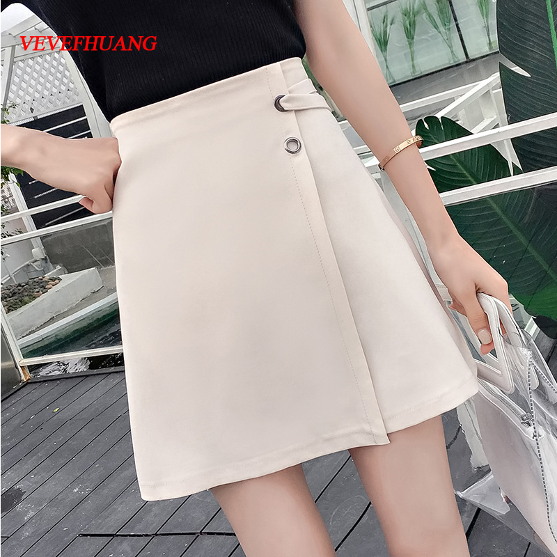Summer New Ladies A-line Skirts Women Slim New Korean Fashion Mini Skirts  OL Skirts