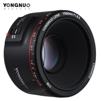 YONGNUO YN50mm Objektiv YN50mm F1.8 II Große Blende Auto Fokus Objektiv für Canon Bokeh Wirkung Objektiv für Canon EOS 70D 5D2 5D3 600D