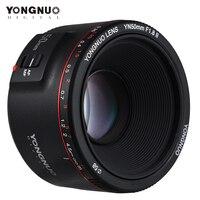 Yongnuo yn50mm lente yn50mm f1.8 ii grande abertura lente de foco automático para canon bokeh efeito lente para canon eos 70d 5d2 5d3 600d