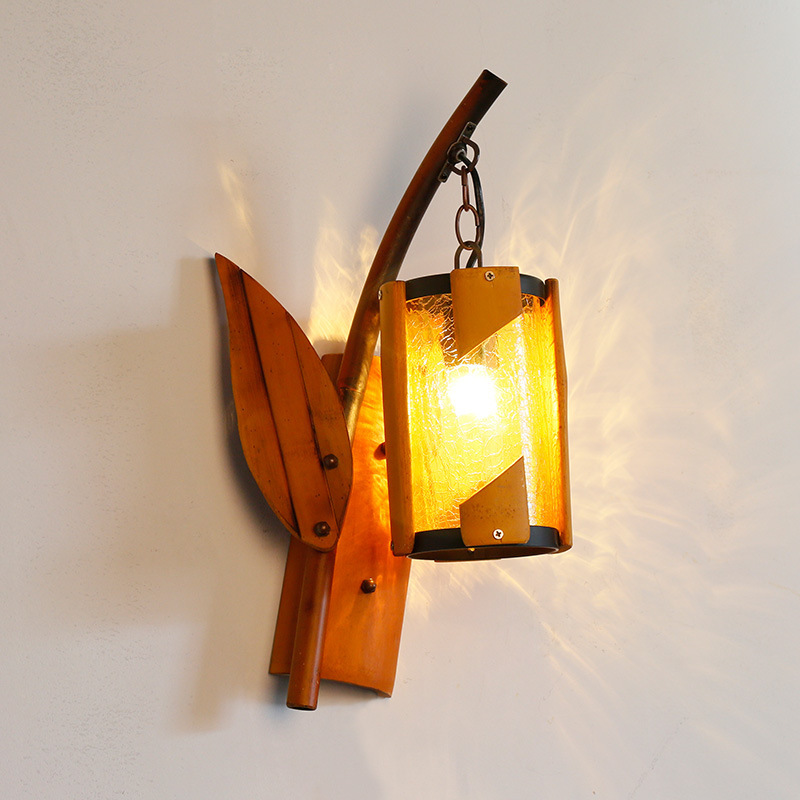 Rural Nordic antique wall lamp creative s