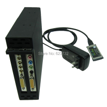 Laptop Expresscard 34 To 2 PCI 32Bit Slots Adapter Express Card 54 Connect Sound Card Network card graphics card