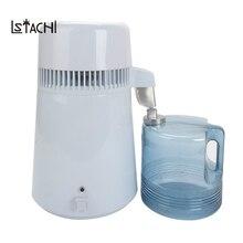LSTACHi дома чисто дистиллятор фильтр машина перегонки очиститель оборудования Нержавеющаясталь дистиллятор воды очиститель
