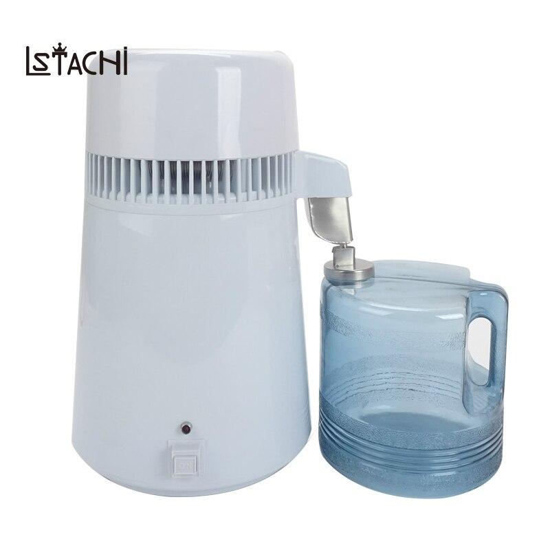LSTACHi Thuis zuiver Water Distilleerder Filter machine distillatie Purifier apparatuur Roestvrij Staal Water Distilleerder Waterzuiveraar