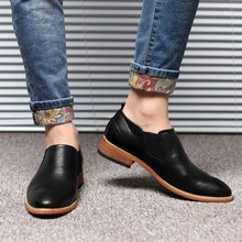 2017 Summer Spring Casual Mens Leather High Quality Brand Office Work Flats Soft Moccasins Men Driving Shoes SMYLMX-F0006