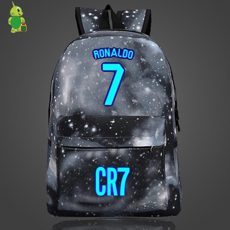 Backpacks Luggage & Bags Cristiano Ronaldo Cr7 Usb Charge Backpack Men Women Boys Girls Backpacks Usb Charging School Bags For Teenagers