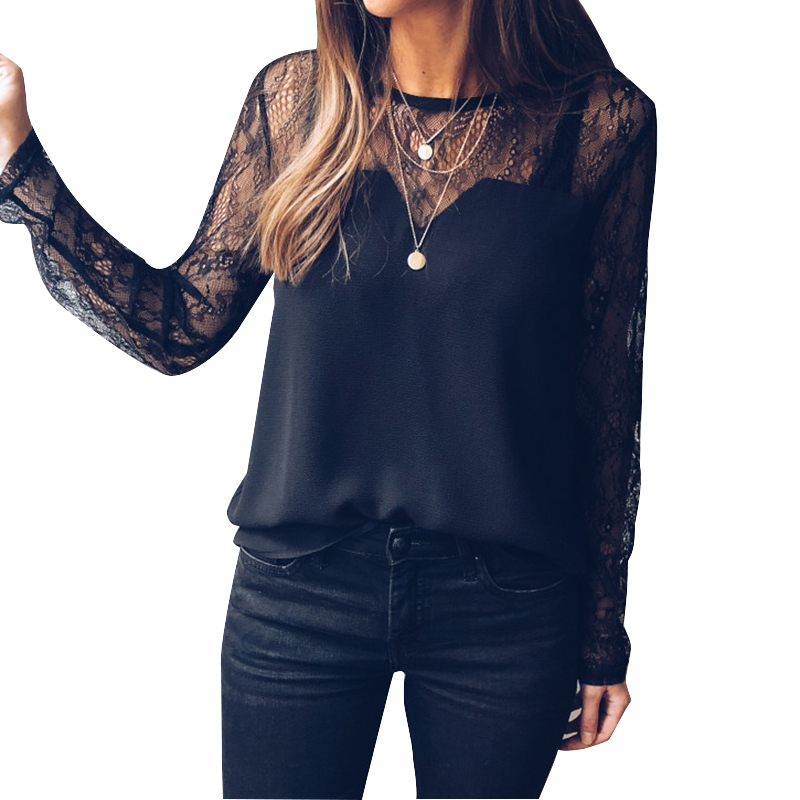 43da02788 Brand Name:Artfish;Material:Polyester;Clothing Length:Regular;Style:Casual;Fabric  Type:Broadcloth;Sleeve Length(cm):Full;Decoration:Lace;Pattern ...