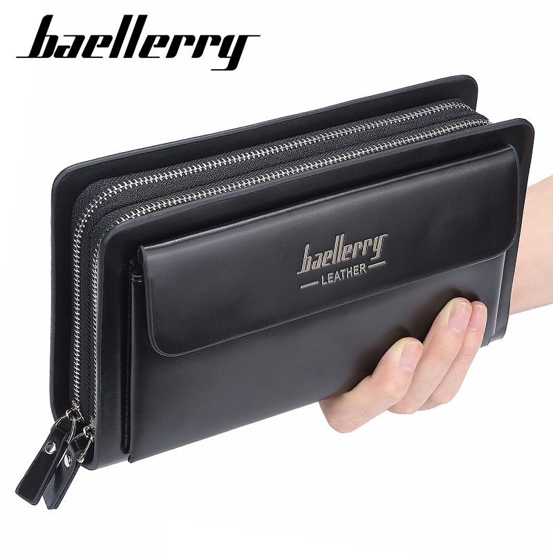 2020 High Quality Men Clutch Wallets Large Capacity Business Men Wallets Cell Phone Pocket Passcard Pocket Wallet For Men