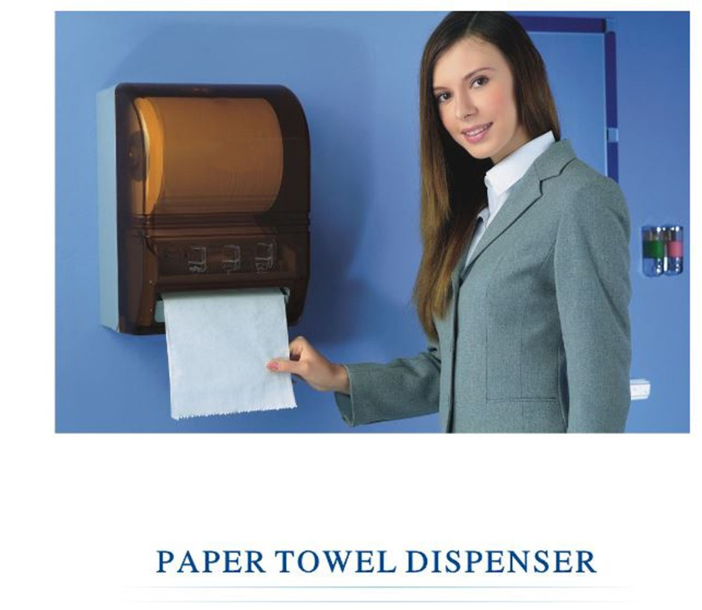 Paper Towel Dispenser Automatic Toilet Sensor Jumbo Roll Paper holder touch less hand free Tissue Box for office ,hotel