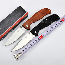 L05 8Cr13MoV blade wood or G10 handle 59 HRC folding knife hunting outdoor camping survival tool tactical knives EDC handle tool
