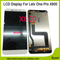 1 pcs Cor Branca 1440x2560 Screen Display LCD de Toque Digitador Substituição Celular Peças de telefone lcd Para Letv One Pro Le 1 Pro X800