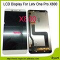 1 unids Color Blanco 1440x2560 Pantalla LCD de Pantalla Táctil Digitalizador de Reemplazo Celular Piezas del teléfono lcd Para Letv Pro Le 1 Pro X800