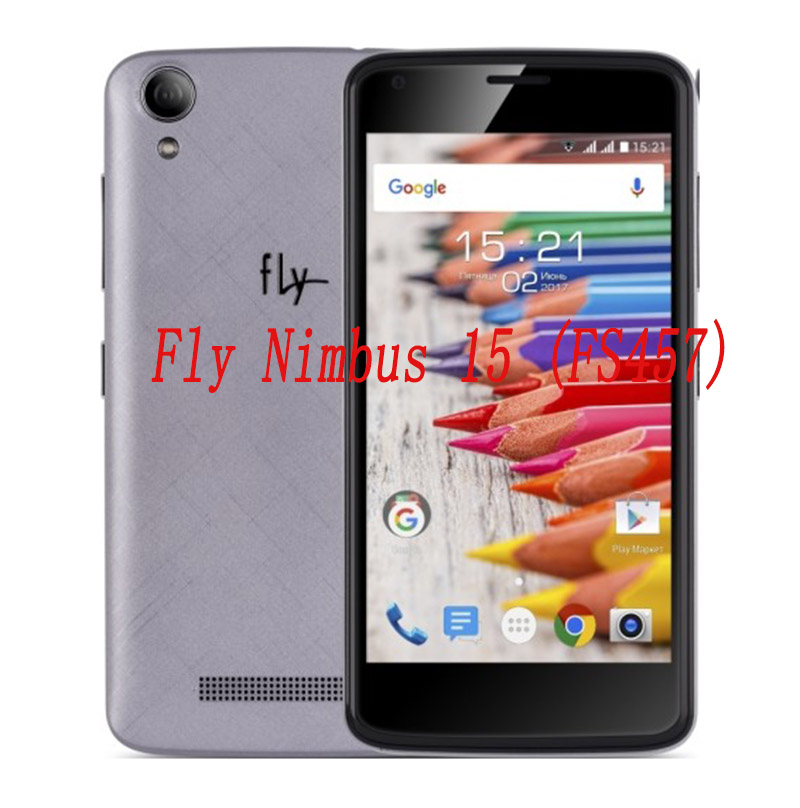Smartphone Tempered Glass for Fly Nimbus 15 FS457 9H Explosion-proof Protective Film Screen Protector cover phone image