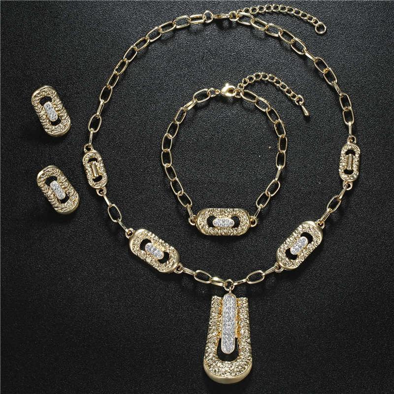 BTSETS Afrikanische Perlen Schmuck Set Imitation Kristall Dubai Schmuck-Sets Für Frauen Luxus Geometrische Nigerian Hochzeit Schmuck Set