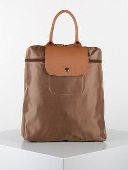 KISS & HUG Schoolbag flat fabric