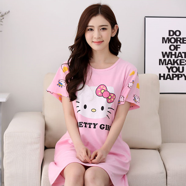 In Spring And Summer Summer Nightgown Female Korean Girl Cute