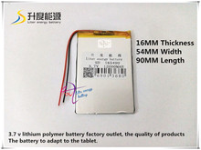 3.7V 12000mAH SD 165490 (polymer lithium ion battery ) Li-ion battery for POWER BANK,tablet pc,mp4,cell phone,speaker