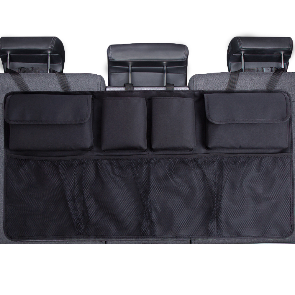 Storage-Bag Seat Car-Trunk-Organizer Automobile Universal Oxford Net Multi-Use Adjustable