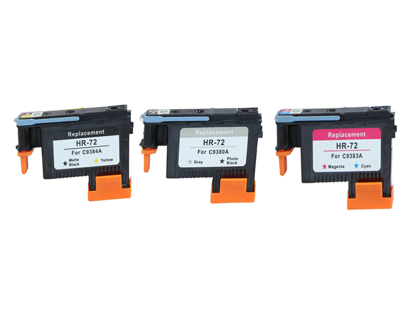 einkshop C9380A C9383A C9384A 72 Printhead for HP DesignJet T2300 T790 T1120ps T1100 T1300 T1300ps T1200 T610 T770 T1120Printer печатающая головка hp c9383a 72 printhead magenta and cyan для designjet t1100 t610