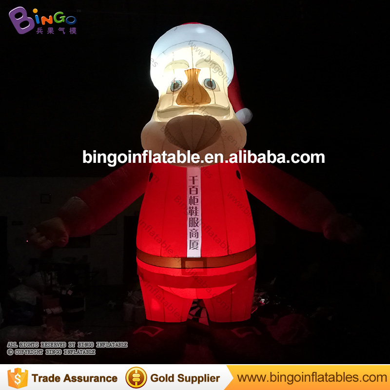 free shipping 5 mts high inflatable christmas santa claus hot sale inflatable christmas santa decorations for display toys inflatable cartoon customized advertising giant christmas inflatable santa claus for christmas outdoor decoration