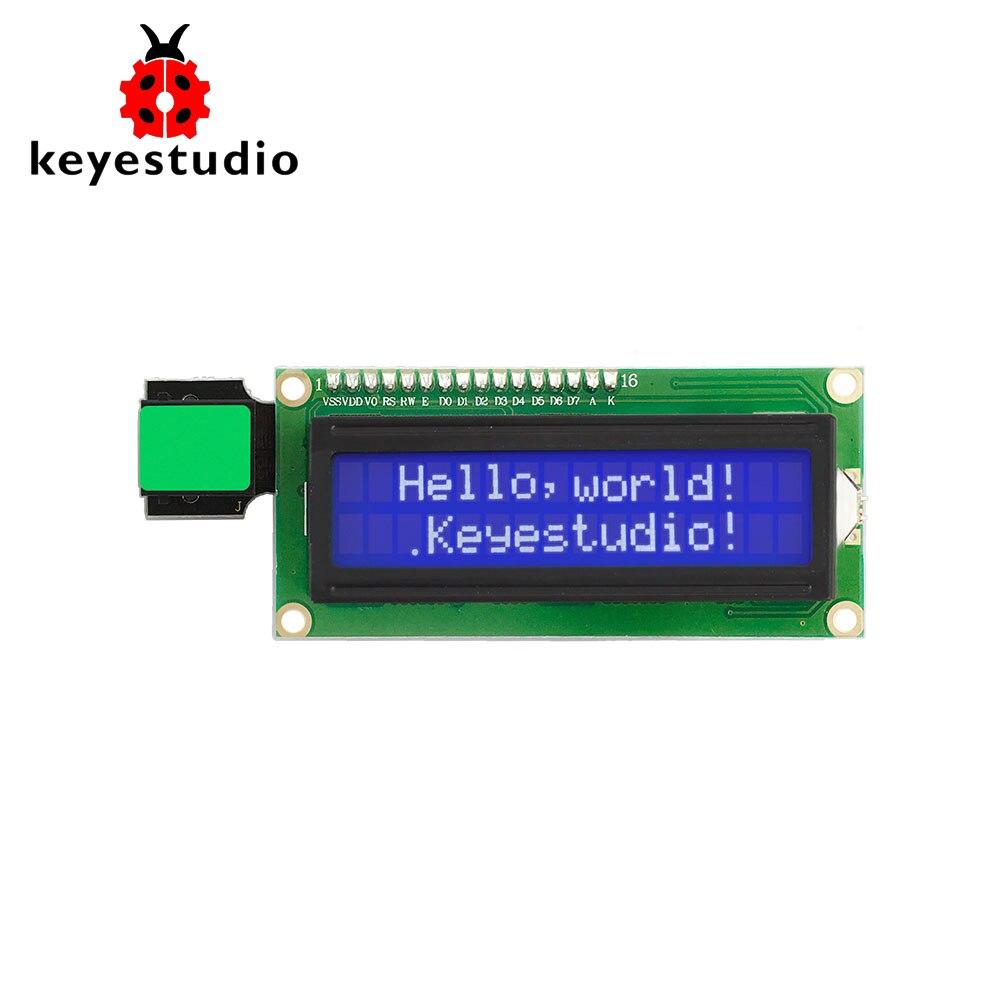 New!Keyestudio  EASY Plug IIC I2C 1602 LCD Display  Module For Arduino STEAM