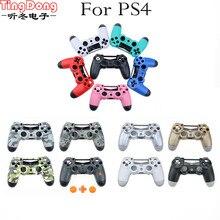 TingDong таможня 11 цветов опционально для PS4 JDM 011 контроллер чехол Корпус Замена для Playstation 4 контроллер
