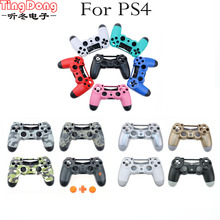 TingDong Customs 11 Color Optional for PS4 JDM 011 Controller Case Cover Housing Shell Replacement for Playstation 4 Controller