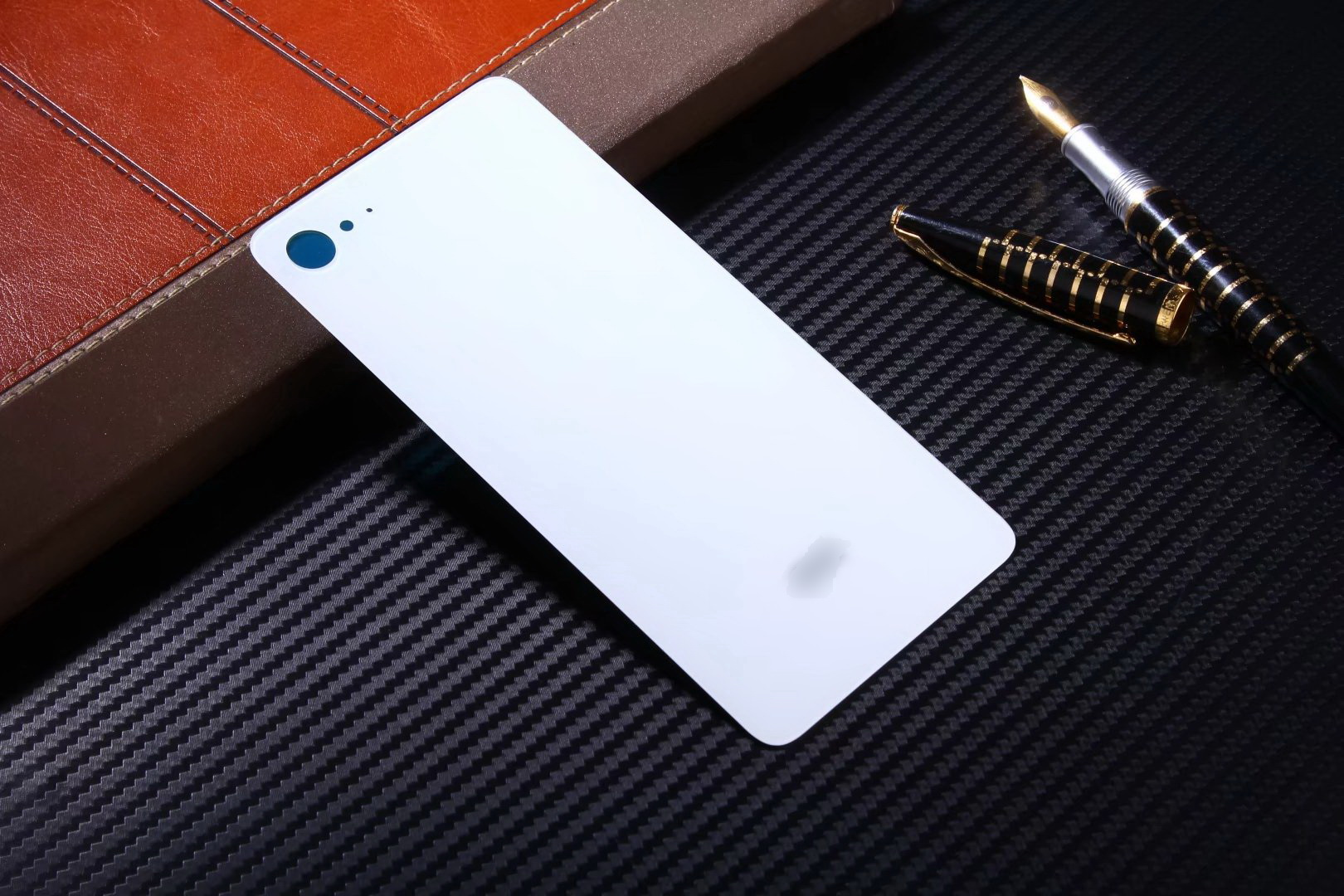 New Replace Battery Back Cover case For Lenovo ZUK Z2 Hard Glass With Sticker Housing protective cases for ZUK Z2 phone shell