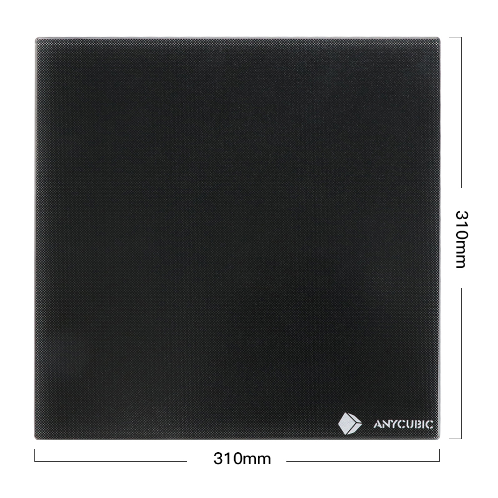 ANYCUBIC Ultrabase 3D Printer Platform Heatedbed Build Surface Glass plate Heatbed 310x310x4mm for MK2 MK3 Hot