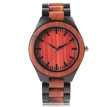 2017 New Arrival Hot Analog Fashion Novel Women Clock Handmade Nature Wood Men Sport Bangle Creative Watches Bamboo Relogio