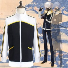 Touken Ranbu Cosplay Costume Uchigatana Nakigitsune Cotton Sweater Jacket Gameplay Character Cosplay Hoodie Anime Cosplay