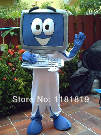 MASCOT Computer character mascot costume custom fancy costume anime cosplay kits mascotte fancy dress carnival costume-in Mascot from Novelty u0026 Special Use ... & MASCOT Computer character mascot costume custom fancy costume anime ...
