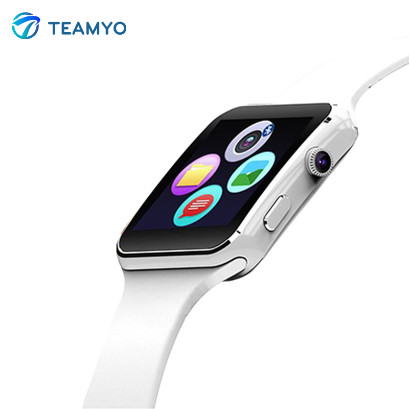 Bluetooth Smart Watch X6+ Curved Screen Smartwatch With Alarm Clock Camera Support SIM TF Card Facebook Twitter Relogios Smart