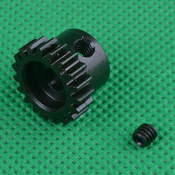 1PC 1/10 Remo Truck Motor Gear 0.8M Module 17T/15T/19T Metal Gears 3.17mm 5mm Hole Pinion Gear for Slash727 RC Cars Parts цена 2017