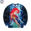 Mr.1991 juventude moda anime dos desenhos animados 3D impresso hoodies meninas adolescentes Primavera Outono camisolas finas grandes camisolas dos miúdos W10