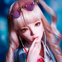New Style 1/4 BJD Doll BJD/SD Fashion Fid Mari Doll With Eyes For Baby Girl Birthday Christmas New Year Gift