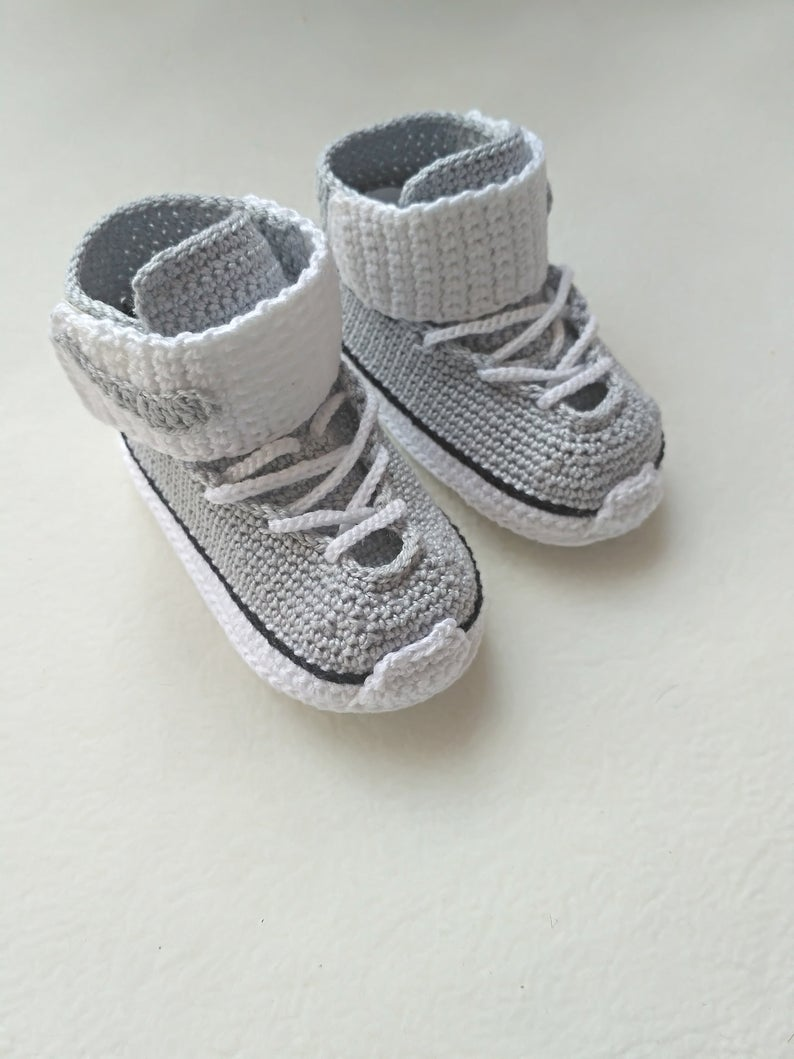 Crochet Baby  Style Shoes Slipper  Model Number  19061701